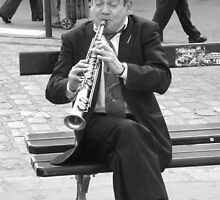 Clarinet in Montmatre by Nico3