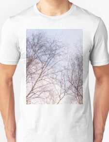 Trees and sky 4 Unisex T-Shirt
