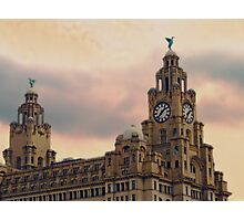 Liver Buildings - Liverpool Photographic Print