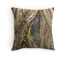 Deva In The Tree Throw Pillow