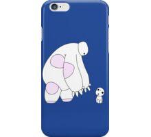 Baymax meets a Kodama iPhone Case/Skin