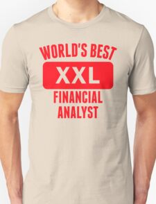 World's Best Financial Analyst T-Shirt