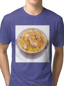 Chicken and Rice Tri-blend T-Shirt