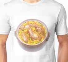 Chicken and Rice Unisex T-Shirt