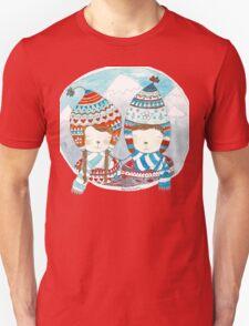 Winter hats mint Unisex T-Shirt
