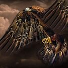 ☝ ☞ GOLDEN EAGLE IN FLIGHT  PICTURE-PILLOW-AND OR TOTE BAG☝ ☞ by ✿✿ Bonita ✿✿ ђєℓℓσ