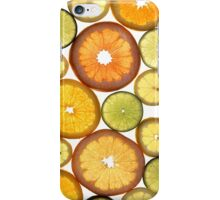 Citrus Fruit Slices iPhone Case/Skin