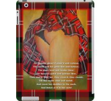 The Dancers Quick and Quicker Flew Burns Supper iPad Case/Skin
