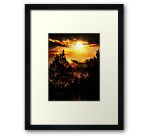Still Amazed............. Collaboration With Roger Sampson Framed Print