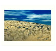 Sand In My Shoes Art Print