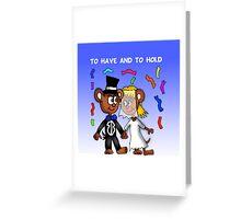 Married Mice  Greeting Card