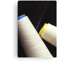 Cotton Yarn Coil Canvas Print