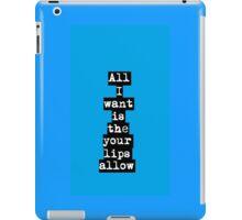 Ed Sheeran - Give Me Love iPad Case/Skin