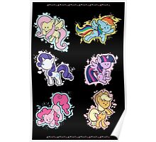The Mane Six Poster