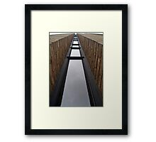 Waterway to the sky? Framed Print