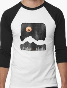 Hunter's Moon... Men's Baseball ¾ T-Shirt