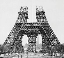 Eiffel Tower Construction by BravuraMedia