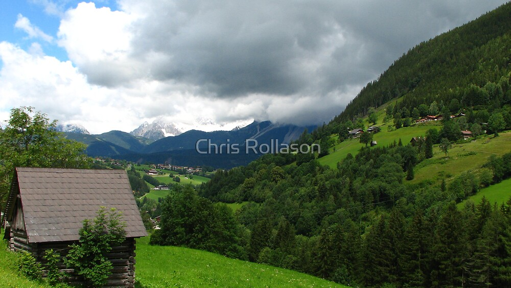 Unterfal Valley by Chris Rollason