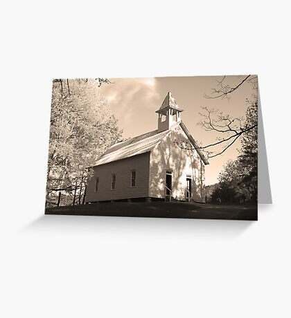 Methodist Church Greeting Card