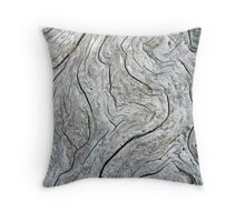 """Driftwood Patterns"" Throw Pillow"