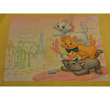 Disney Aristocats Marie Disney Cats Disney Kittens Photographic Print