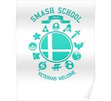 Smash School Veteran Class (Cyan) Poster