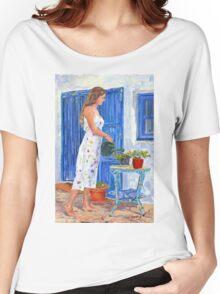 La Jardinera Women's Relaxed Fit T-Shirt