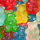 Gummy Bear Candy by Tony  Bazidlo