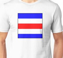 International maritime signal Unisex T-Shirt