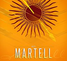 House Martell Sigil III (house seat) by P3RF3KT