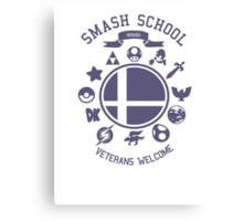 Smash School Veteran Class (Purple) Canvas Print