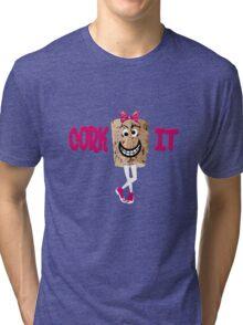 mrs. corky Tri-blend T-Shirt