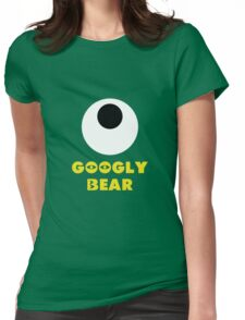 Googly Bear Womens Fitted T-Shirt