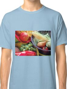 Healthy Fruit and Vegetables Classic T-Shirt