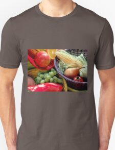 Healthy Fruit and Vegetables Unisex T-Shirt