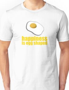 Happiness is... (yellow) Unisex T-Shirt