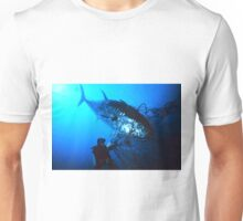 Giant Bluefin Tuna Caught in a Net Unisex T-Shirt