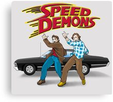 Speed Demons Canvas Print