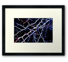 Hawthorn Abstract Framed Print