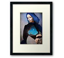 Lady Midnight  Framed Print