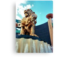 MGM Lion Canvas Print