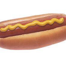 Hot Dog with Mustard by BravuraMedia