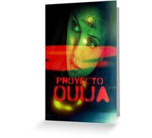 Proyecto Ouija Greeting Card