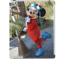 Disney Minnie Mouse Disney Aviation Minnie Mouse Outfit iPad Case/Skin