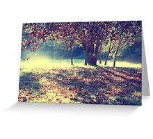 Don't fall so quickly Greeting Card