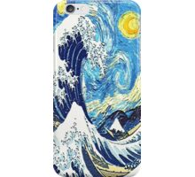 Starry Night Blue Art Painting iPhone Case/Skin