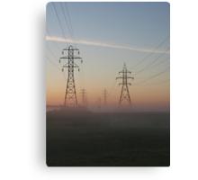 Electric Dawn Canvas Print