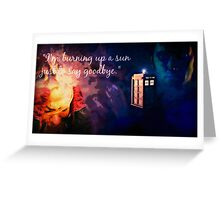The Doctor and Rose Greeting Card