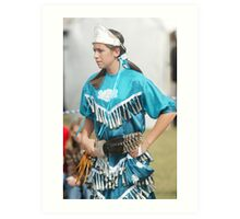 Jingle Dancer Art Print