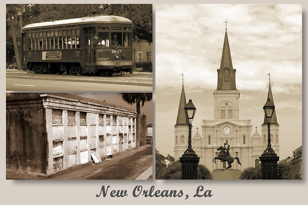 """My Home Town  """"New Orleans, La by Irvin Le Blanc"""